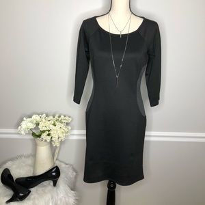LAUNDRY by Shelli Segal Black  mini dress